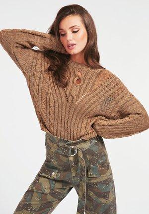 ZÖPFE - Sweter - beige