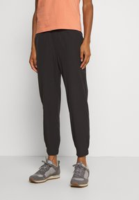 Patagonia - LINED HAPPY HIKE STUDIO PANTS - Friluftsbukser - black - 0