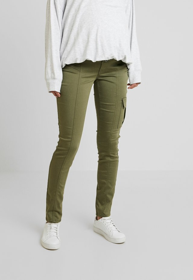 PANTS - Broek - burnt olive