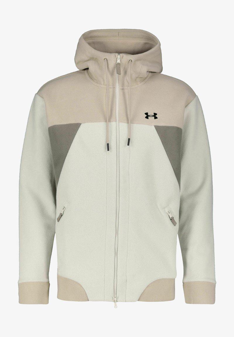 Under Armour - Zip-up hoodie - beige