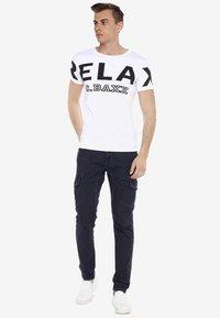Cipo & Baxx - Slim fit jeans - blauw - 1