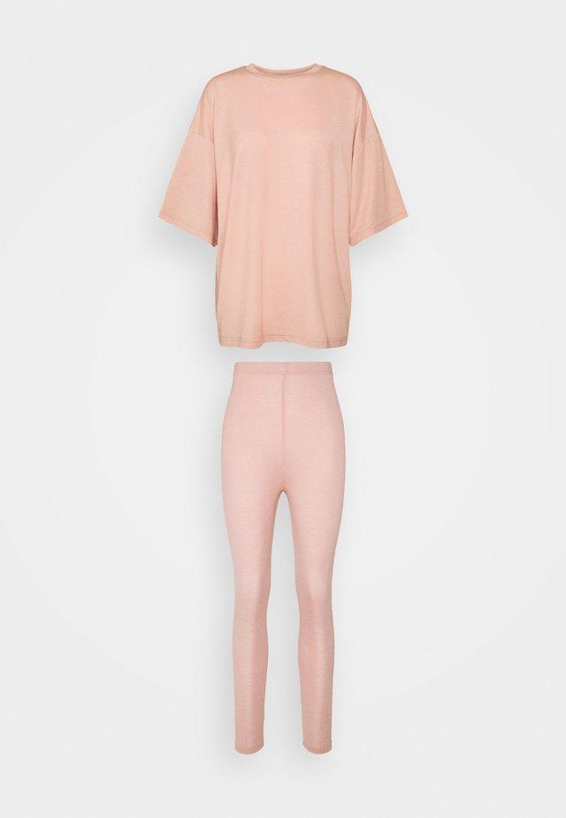 SET - Leggings - pink