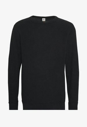O-NECK - Jumper - black