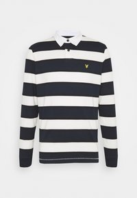 Lyle & Scott - STRIPED RUGBY RELAXED FIT - Piké - dark navy - 5