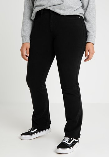 315 PL SHAPING BOOT - Bootcut jeans - new ultra black night