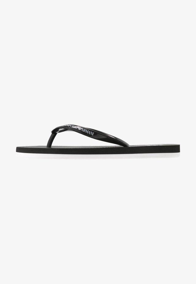 Pool shoes - black/white