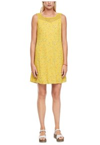 s.Oliver - Day dress - yellow aop mini flowers - 5