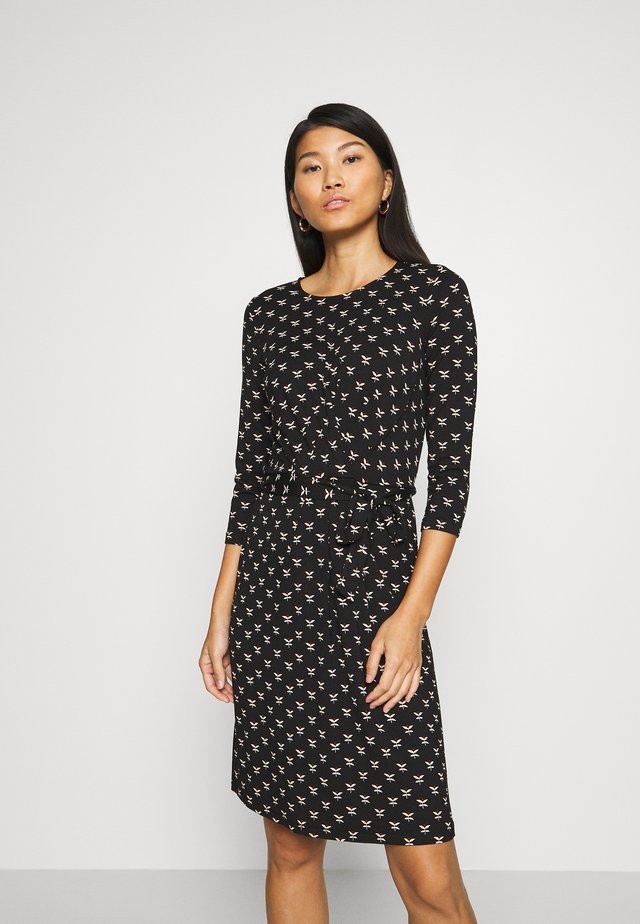 HAILEY DRESS WILLOW - Korte jurk - black