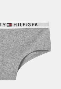 Tommy Hilfiger - 2 PACK - Briefs - medium grey/white - 3