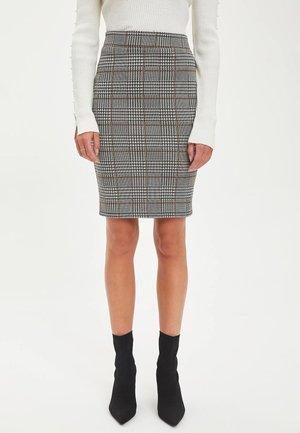 Blyantnederdel / pencil skirts - anthracite