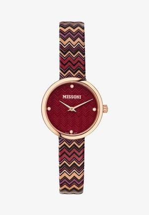 Watch - burgunderfarben