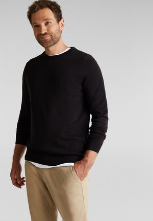 AUS 100% ORGANIC COTTON - Jumper - black