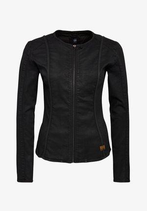 LYNN TYPE 30 - Giacca di jeans - dk black cobler
