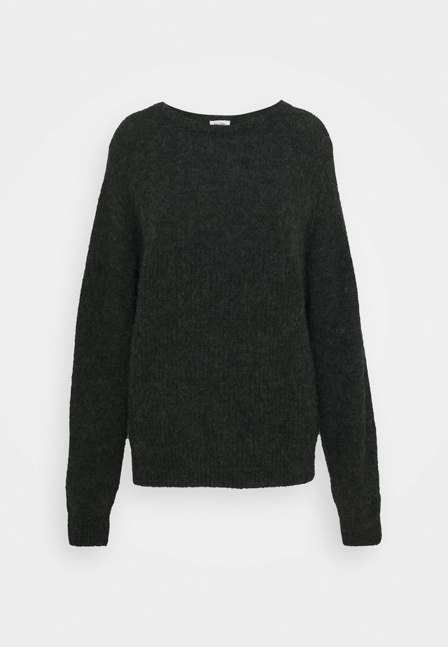 EAST - Pullover - anthracite chiné