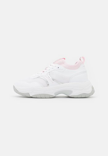 CHUNKY SOLE SOCK LACEUP - Joggesko - bright white