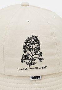 Obey Clothing - LANGUAGE OF FLOWERS BUCKET HAT UNISEX - Šešir - natural - 2