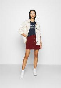 Hollister Co. - Print T-shirt - navy - 1