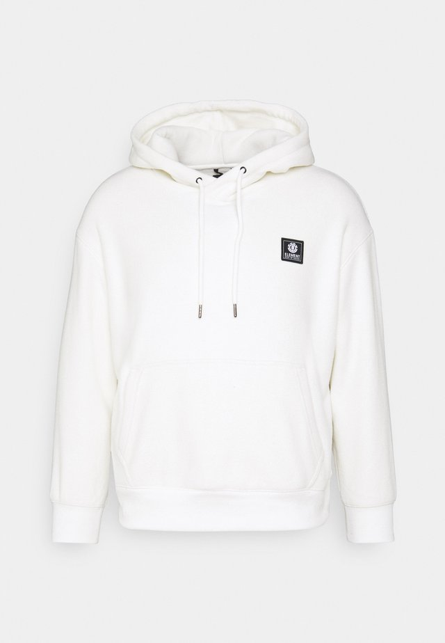 FAROE - Sweat à capuche - bone white