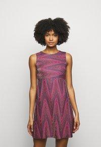 M Missoni - ABITO - Cocktail dress / Party dress - purple - 0