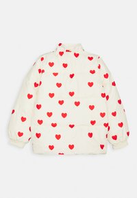 Mini Rodini - HEARTS PICO PUFFER JACKET - Zimní bunda - off white - 2