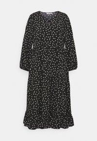 Glamorous Curve - TIERED DRESS - Denní šaty - black tulip - 4