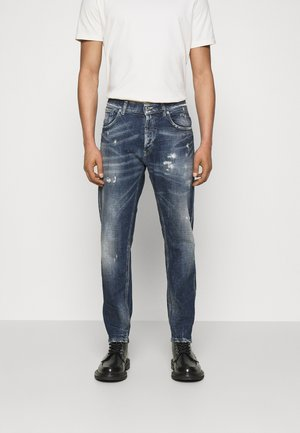 PANTALONE DIAN - Jeans Tapered Fit - dark blue washed