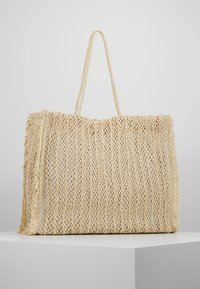 Seafolly - CARRIED AWAY CROCHET BAG - Tote bag - natural - 0