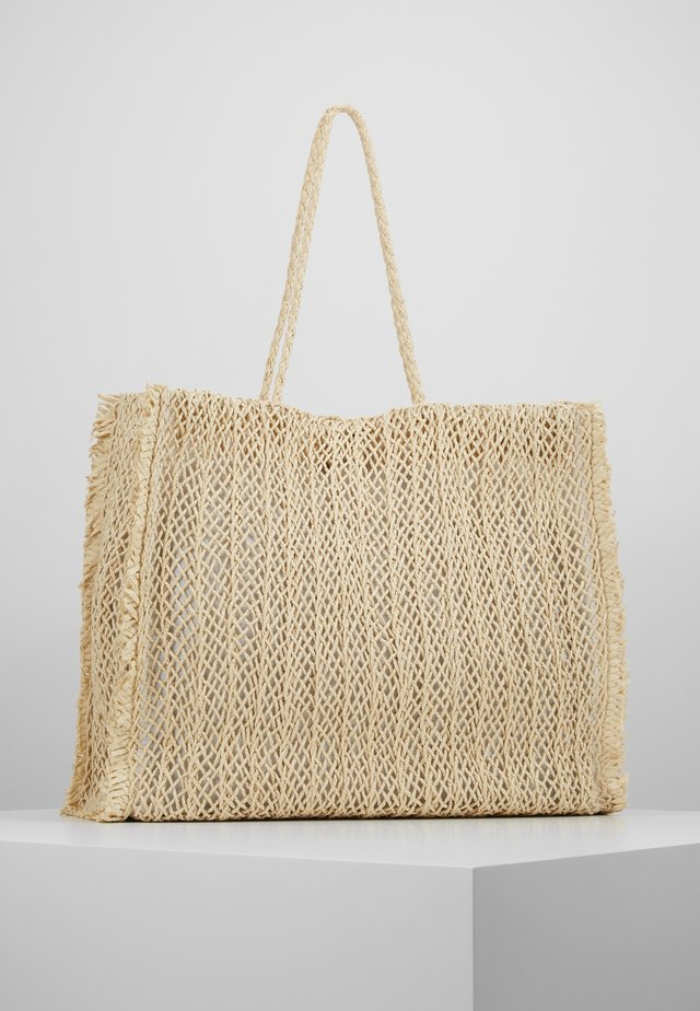 CARRIED AWAY CROCHET BAG - Shopping bag - natural