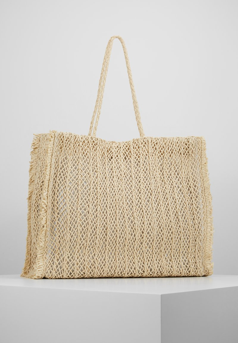 Seafolly - CARRIED AWAY CROCHET BAG - Tote bag - natural