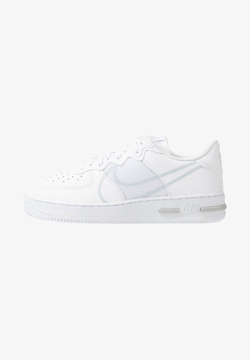 Nike Sportswear - AIR FORCE 1 REACT - Sneakers - white/pure platinum