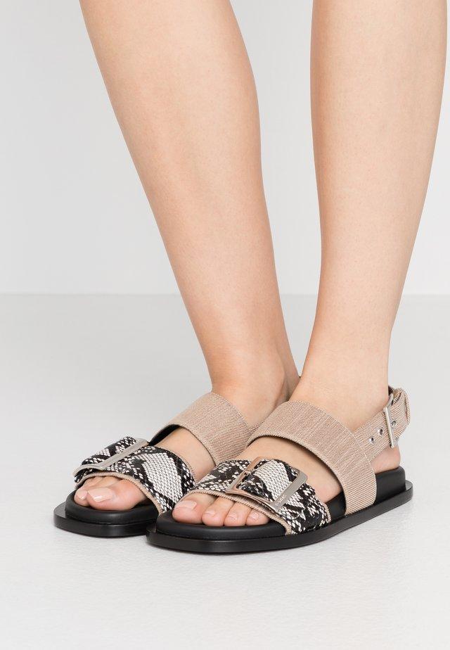 ORO - Sandals - neutro