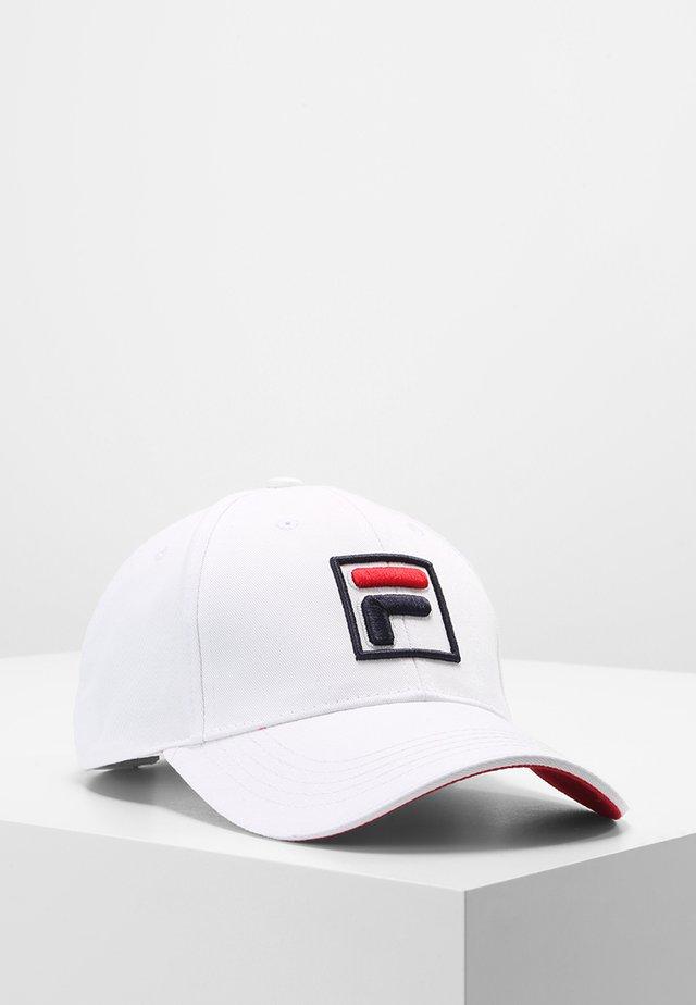 BASEBALL FORZE - Pet - white/fila red
