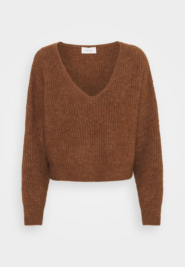 EAST - Pullover - ecorce chine