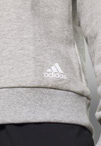 adidas Performance - Sweatshirts - mgreyh/white - 4