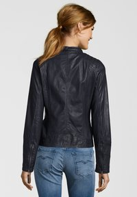 7eleven - ANJA - Leather jacket - navy - 1