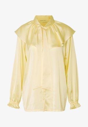 LAUREN BLOUSE - Button-down blouse - cream