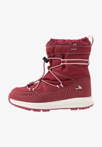 OKSVAL GTX - Winter boots - dark red/red