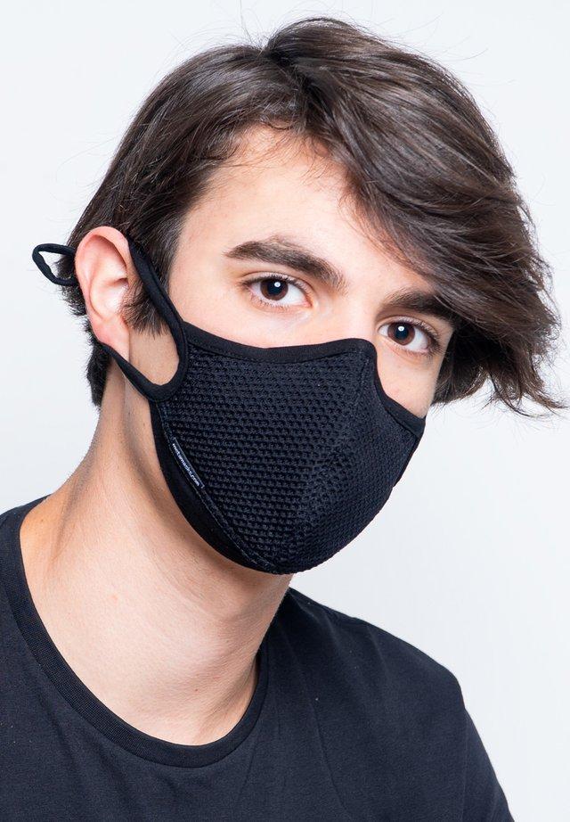 ARIA - Maschera in tessuto - black