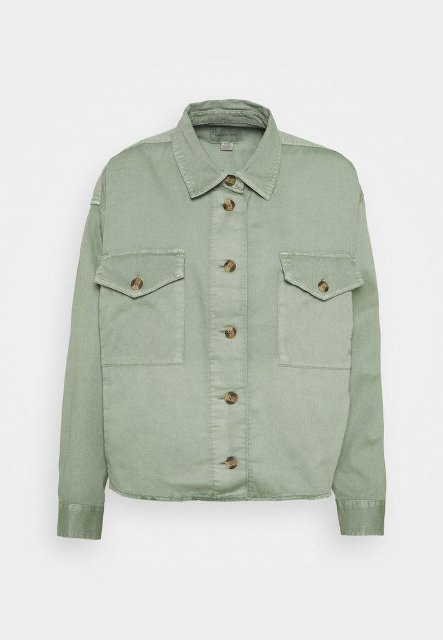 CORE MILITARY SHACKET - Camicetta - olive