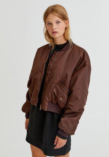 Bomber Jacket - brown