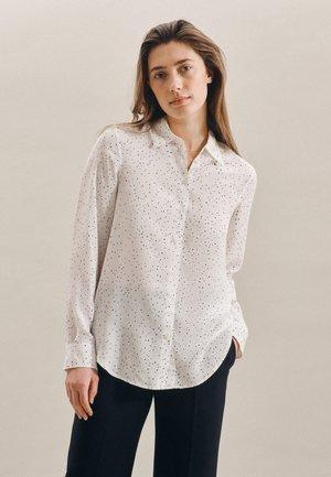 REGULAR FIT - Button-down blouse - weiss
