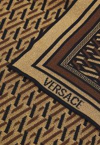 Versace - SCARF UNISEX - Foulard - nero/gold-coloured - 2