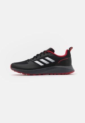 RUNFALCON 2.0 TR - Chaussures de running neutres - core black/silver metallic/grey six