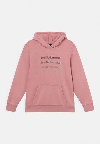 JR GROUND HOOD UNISEX - Sweatshirts - warm blush