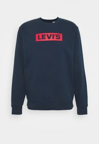 Levi's® - T3 GRAPHIC CREW - Sweatshirt - blues - 0