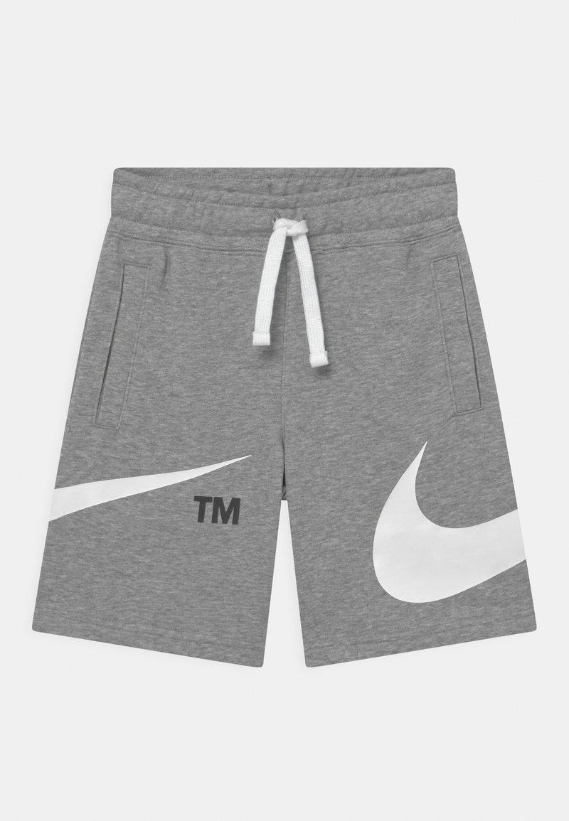 Nike Sportswear - Short - dark grey heather/white