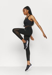 Nike Performance - EPIC LUXE COOL - Tights - black/silver - 1
