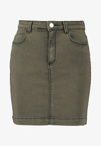 Missguided - SUPERSTRETCH SKIRT  - A-line skirt - khaki - 3