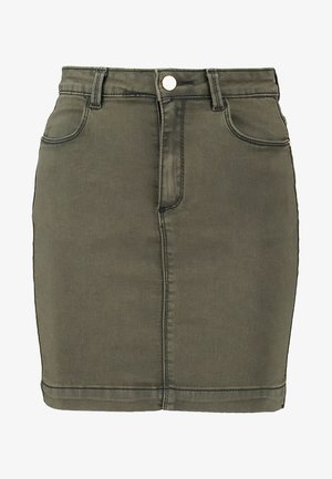 SUPERSTRETCH SKIRT  - A-linjekjol - khaki