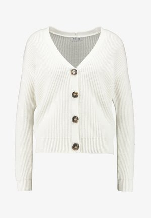 PCKARIE CARDIGAN - Cardigan - cloud dancer